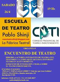 Encuentro de teatro 2014