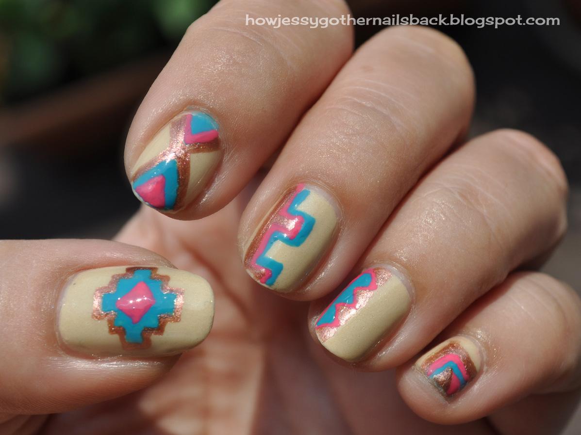 Navajo Nails | How Jessy Got Her Nails Back