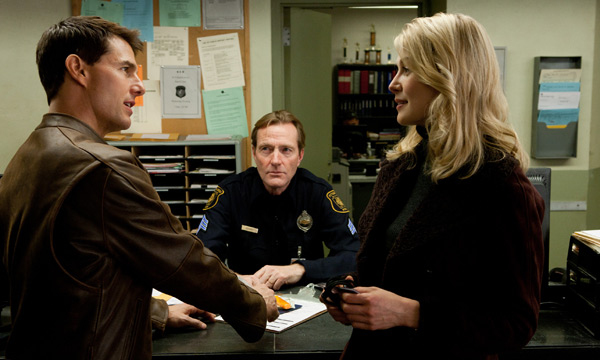 Jack Reacher -Tom Cruise, Rosamund Pike, Jai Courtney y Robert Duvall