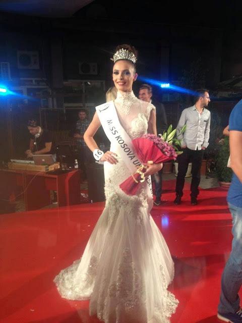 Miss Universe Kosova Kosovo 2013 winner Mirjeta Shala