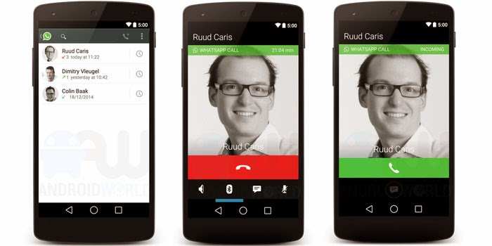 Enable Calling Feature On Whatsapp 2015