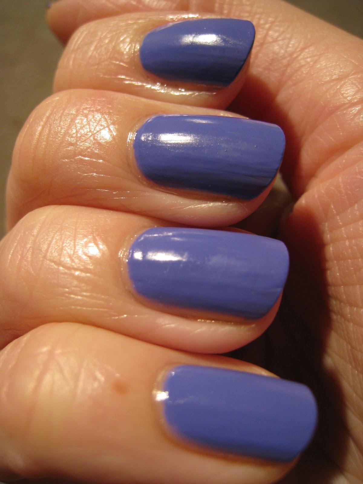 electric purple nail polish - photo #15