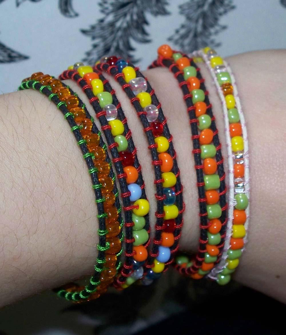 how to make a wrap bracelet