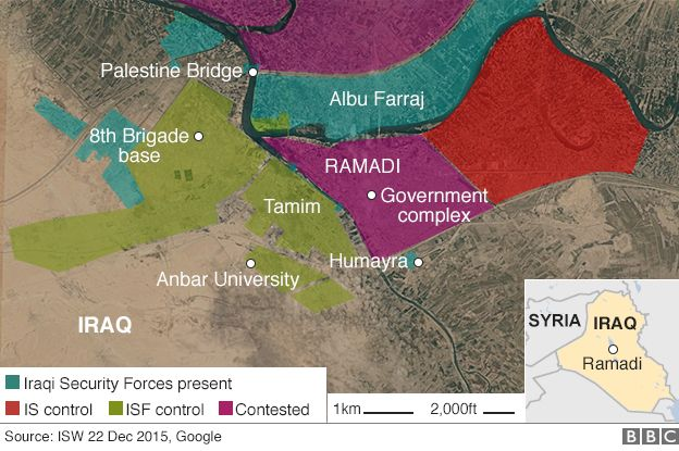 ISIS Khawarij Terusir dari Kota Ramadi