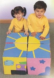 Quebra Cabeça Pedagógico para crianças de Creches e Pré Escolas.