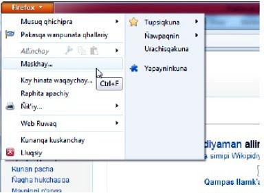 Mozilla trabaja en una versión quechua de Firefox