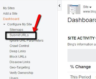 ارشف مشاركات موقعك جديدة في محركات البحث بينج وياهو