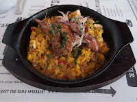 Esquina - seafood and squid paella
