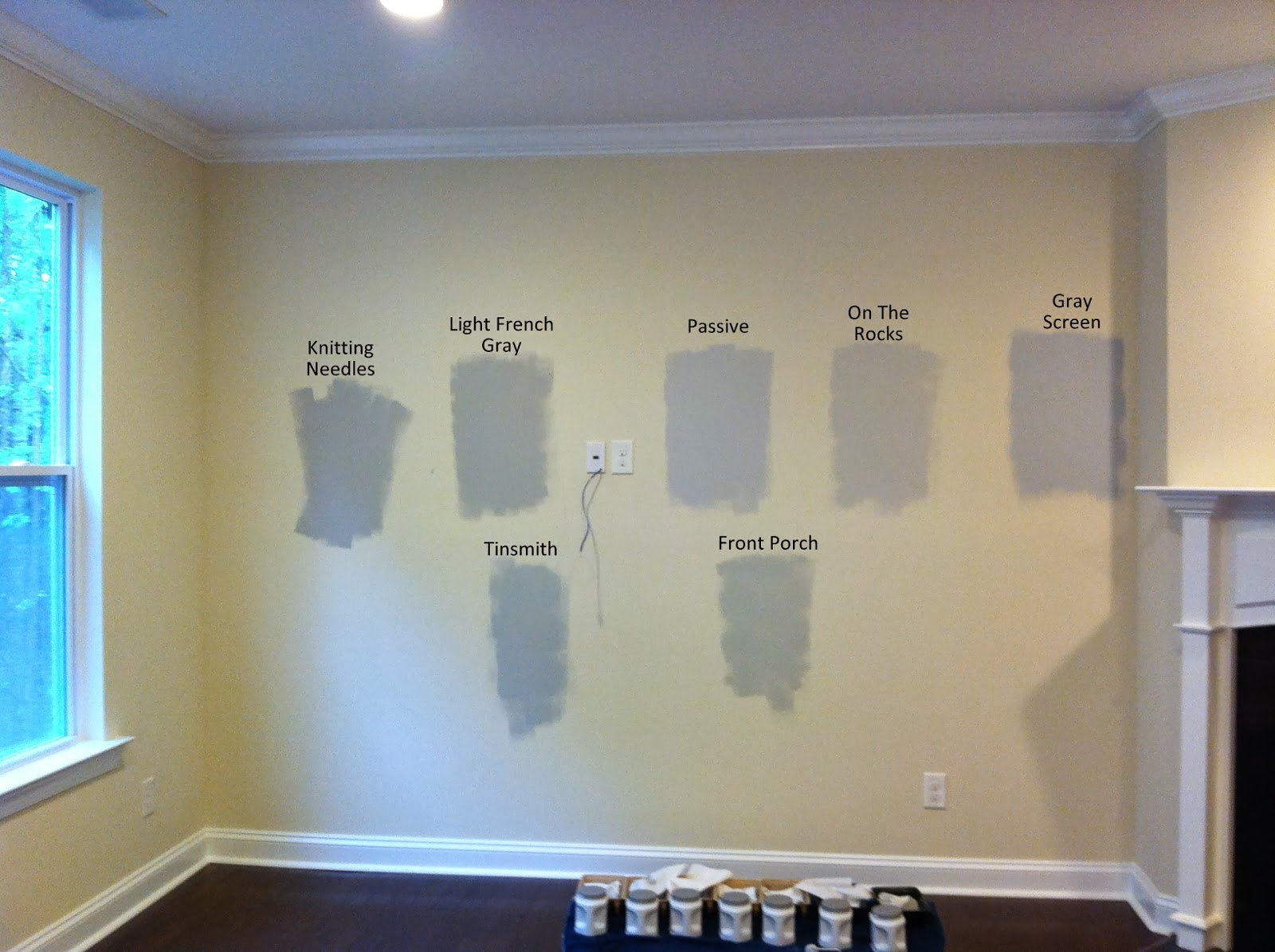 Shades of gray paint laforce be with you Shades of grey interior paint