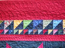 HST Border Piecing, tutorial