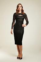 Rochie de seara, extrem de eleganta, din dantela, marca Dynasty ( )