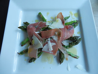 Asparagus, Prosciutto and Parmesan Salad