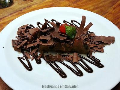 Coco Bahia Restaurante: Pavê de Chocolate Crocante