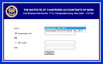 Download ICAI Exam Admit Card