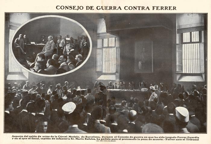 Joël Capella homenatja Ferrer i Guàrdia a Celrà. La mostra estarà oberta fins al 30 de setembre.