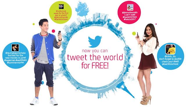 Smart Free Twitter promo mechanics