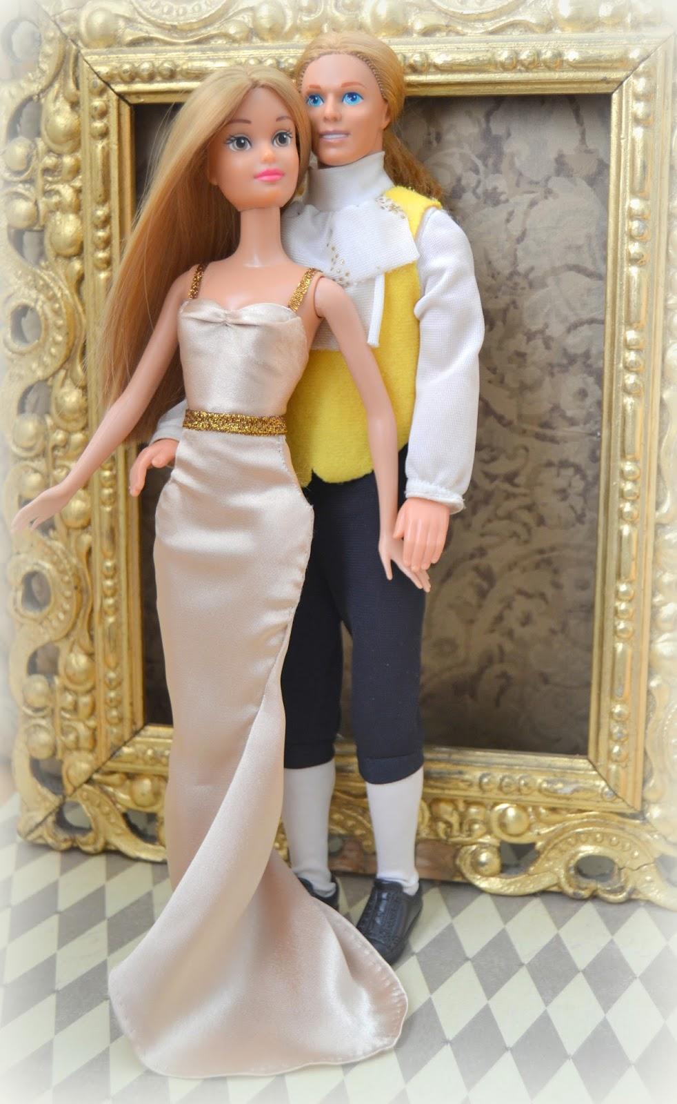 Bella y bestia. Barbie Mattel.