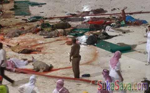 Lantai Masjidil Haram dipenuhi dengan darah jamaah yang meninggal dunia