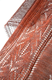 machine knitted passap triangular luxurious pure silk scarf