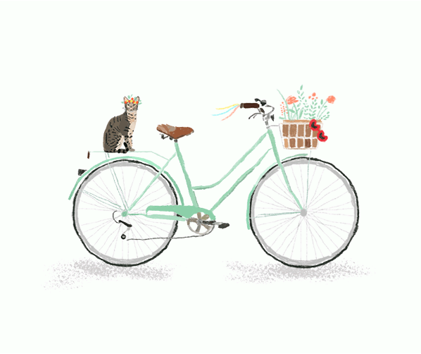 Ma Bicyclette: Inspiring Artists | Charlotte Smith