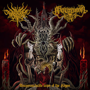 "WARGOAT/BLACK CEREMONIAL KULT - ""UNAPPROACHABLE LAWS OF THE ABYSS"""