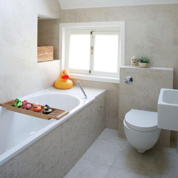 55 ideias para banheiros pequenos assuntos criativos - Ideas para bano pequeno ...