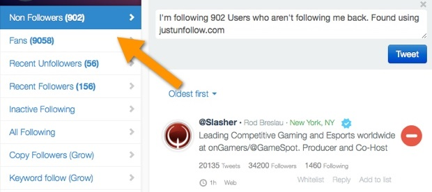 Best Apps Website To Unfollow Non Follow Back Users On Twitter