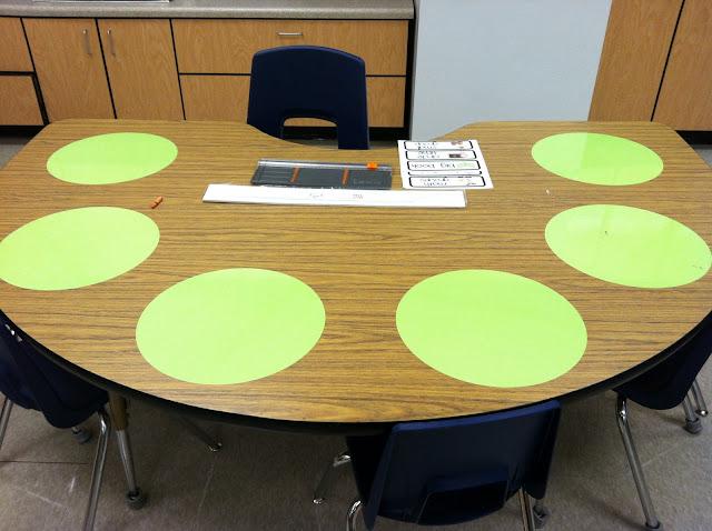 Flapjack Educational Resources Vinyl Dry Erase Circles