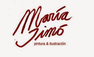 MARÍA SIMÓ,ilustradora del DOS.