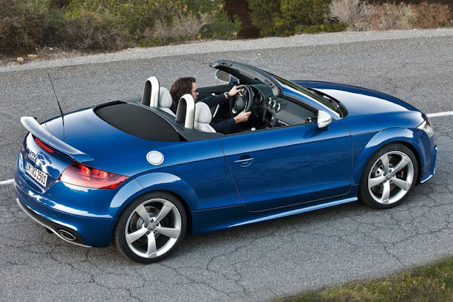 2012 Audi TT RS Roadster Back Exterior