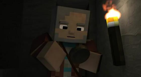 Animation Minecraft