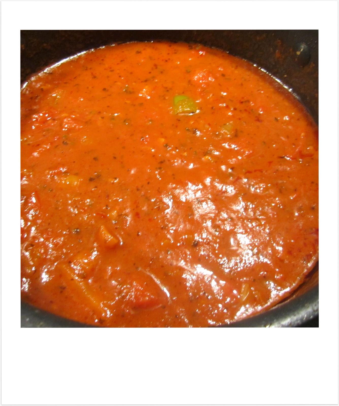 Italiensk tomatsovs