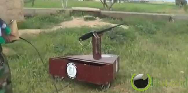 Machine Gun Robot
