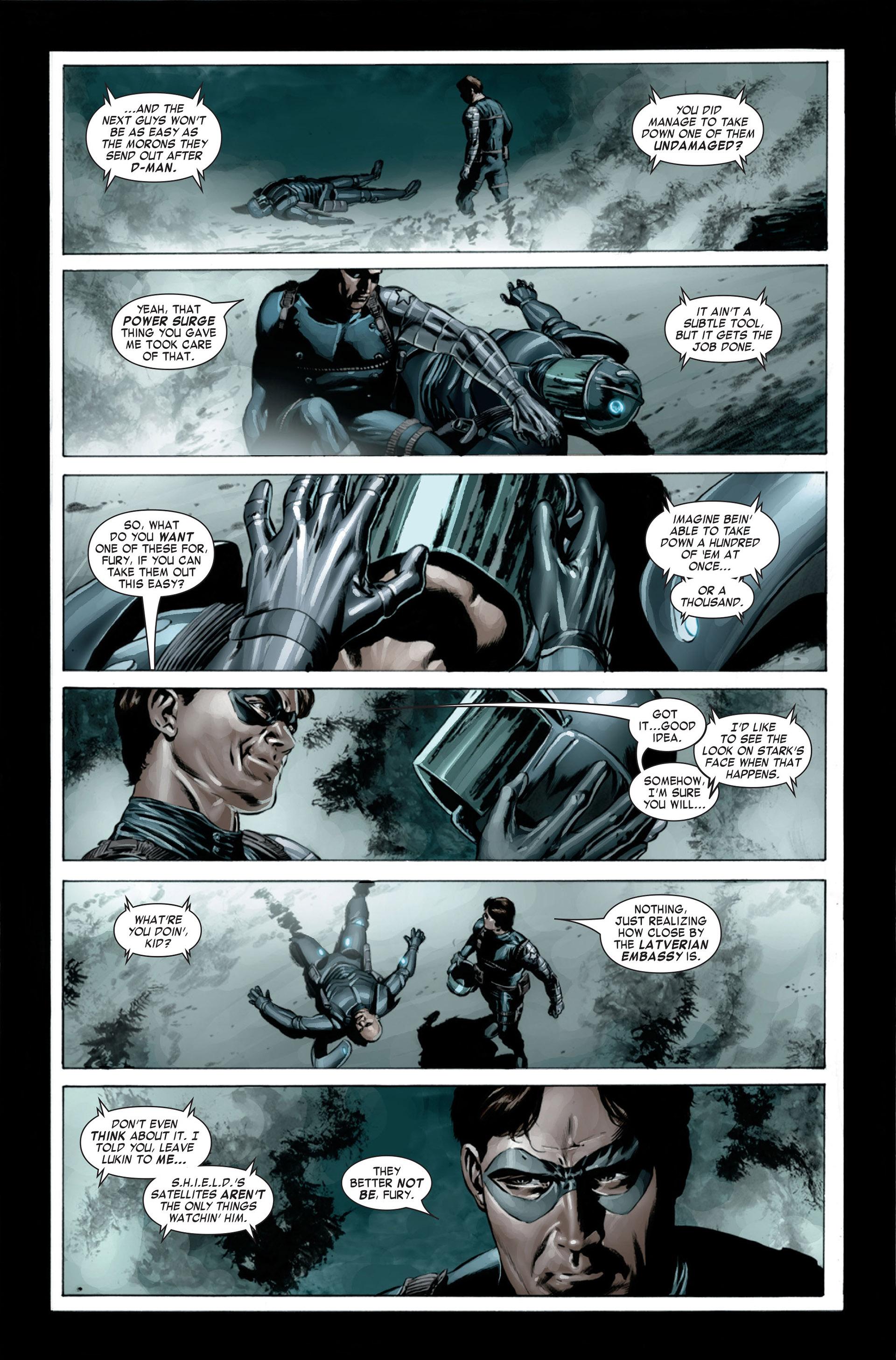 Captain America (2005) Issue #23 #23 - English 21