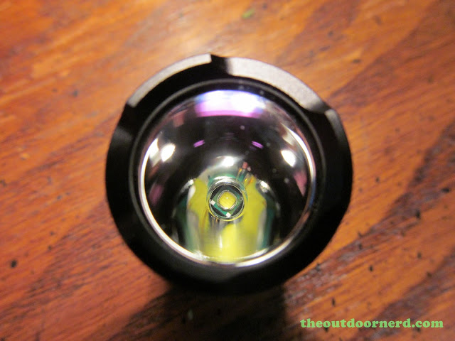 Nitecore MT1A AA Flashlight: Closeup Of Emitter