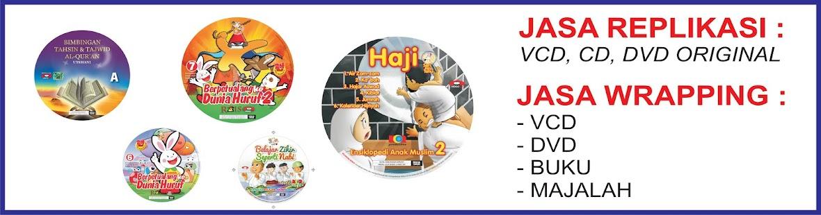 WRAPPING CD-WRAPPING BUKU-WRAPPING MAJALAH-CETAK CD-DUPLIKASI-REPLIKASI DVD-JASA PENGGANDAAN CD