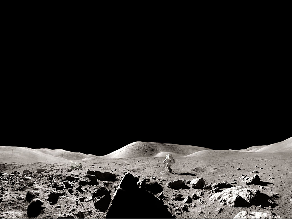 The Animation Art of Ben Hudson: Moon Surface Research