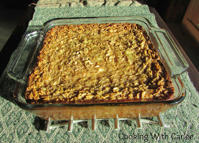 Cooking With Carlee: Maple Banana Baked Oatmeal