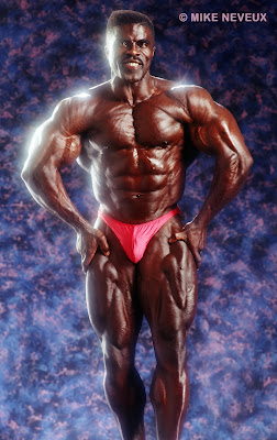 ROBBY ROBINSON - FRONT MUSCULAR - BY MIKE NEVEUX FOR IRON MAN MAG Robby's CONSULTATION Services to answer your questions about bodybuilding,  old school training and healthy lifestyle - ▶ www.robbyrobinson.net/consultation.php