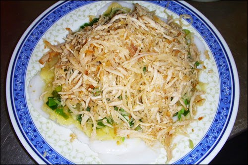 Pork Skin Bloating Fern-shaped Cake of Binh Duong (Bánh Bèo Bì)1