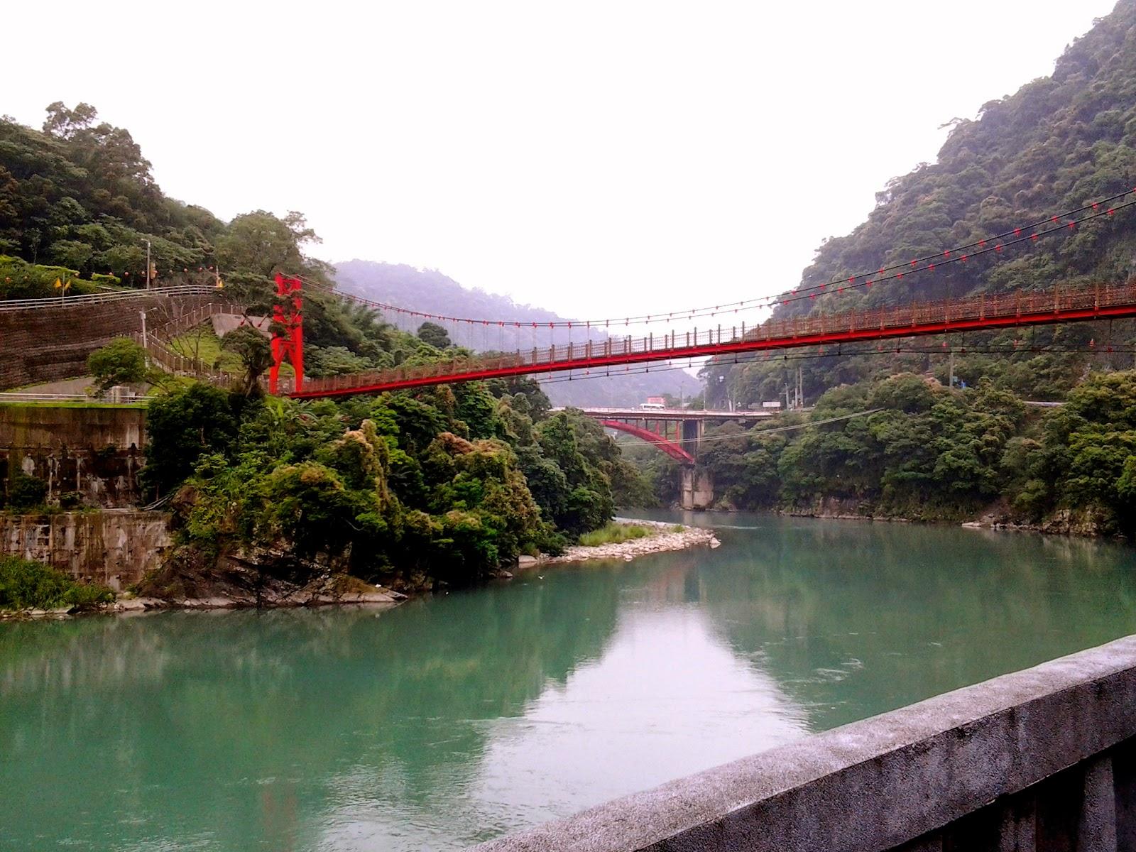 Red Bridge Wulai Xindian Taiwan
