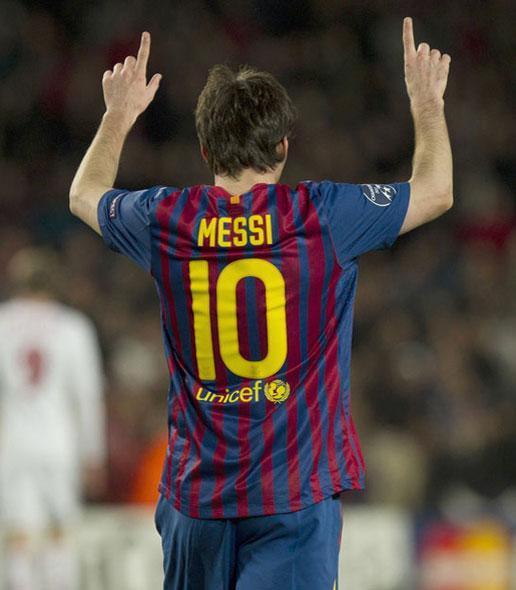 Messi 5 goles