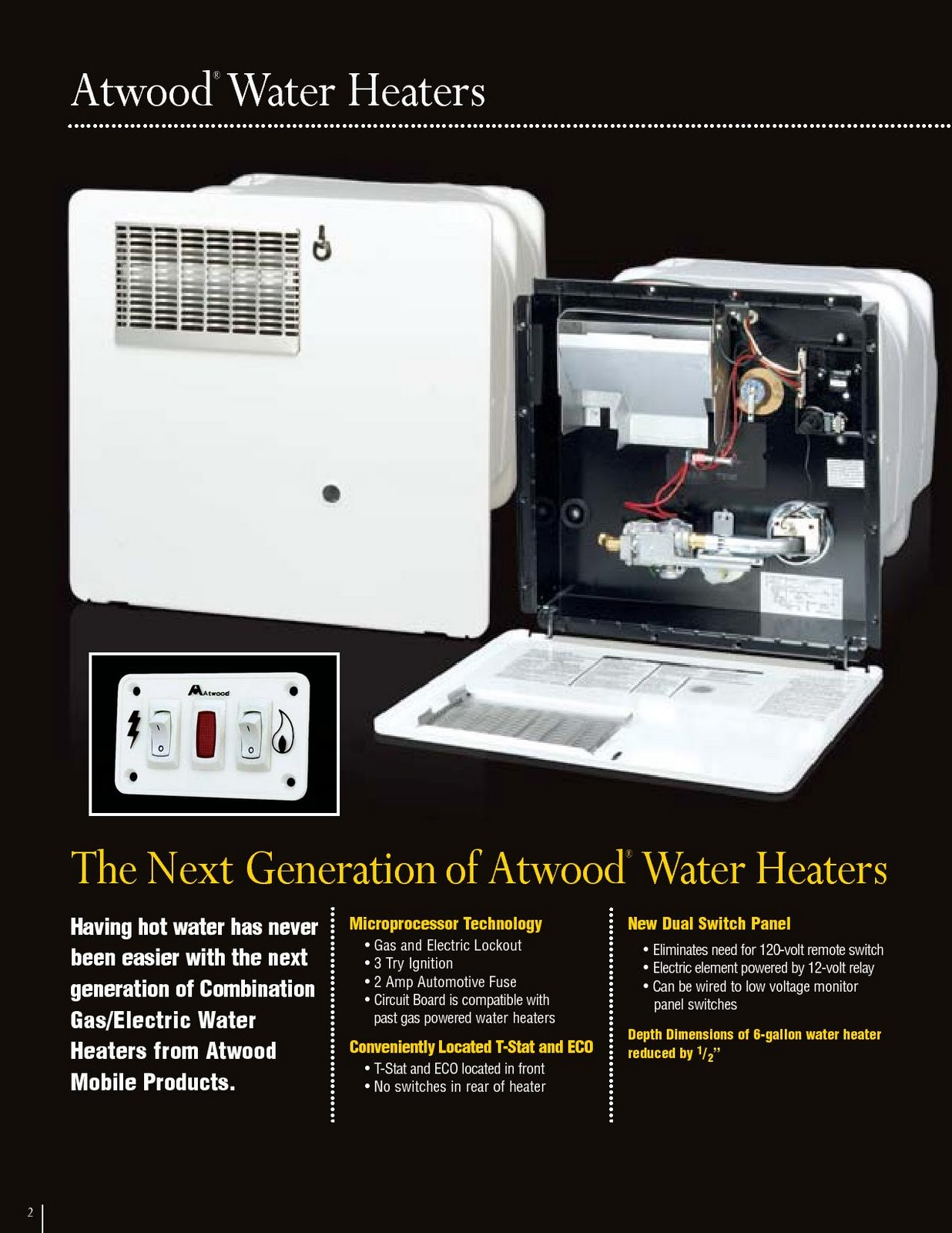 water+heater+%25287%2529 1983 fleetwood pace arrow owners manuals atwood water heater brochure  at creativeand.co