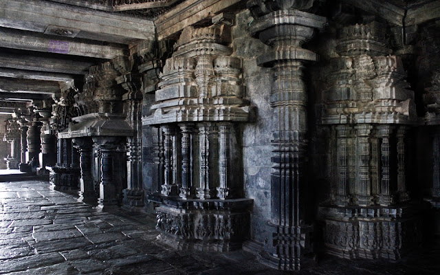 The small shrines which protrude outside the temple has small entrance doors from here