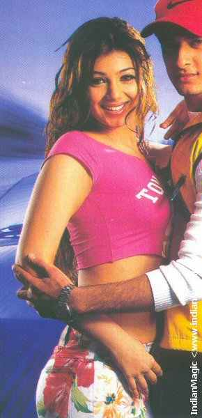 Hotty ayesha takia in old magazine sexy navel & outfit figure shw scanz