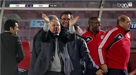هدف خالد قمر في مباراة مصر وتشيلي الودية السبت 31/5/2014