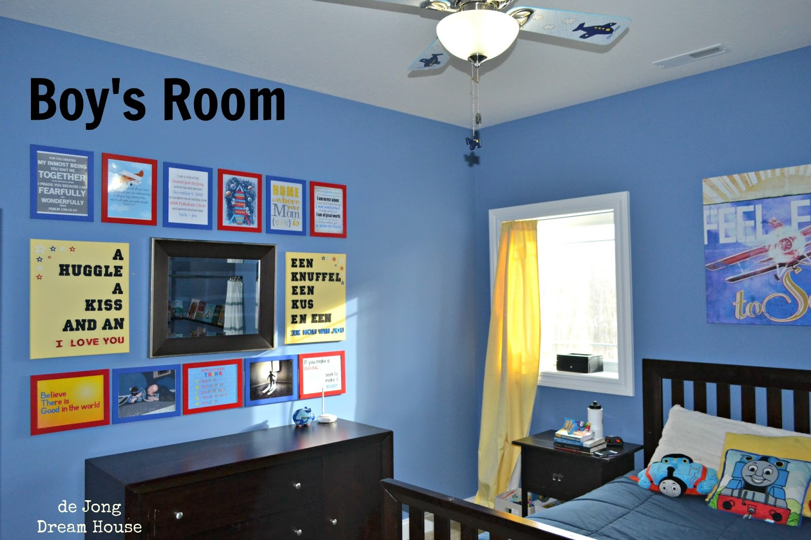 De jong dream house tour boy 39 s room 5 year old boy room decoration