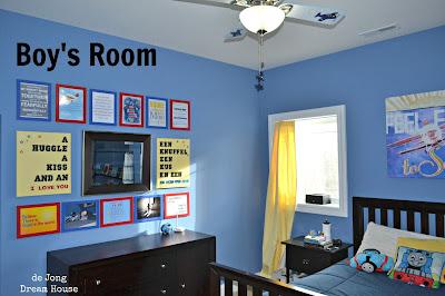 De Jong Dream House Tour Boy 39 S Room