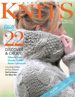 Interweave Knits.Fall 2011