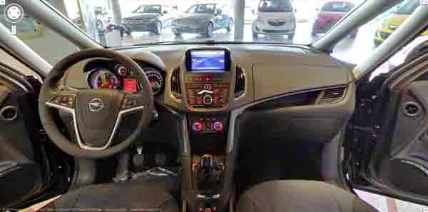 interior google car